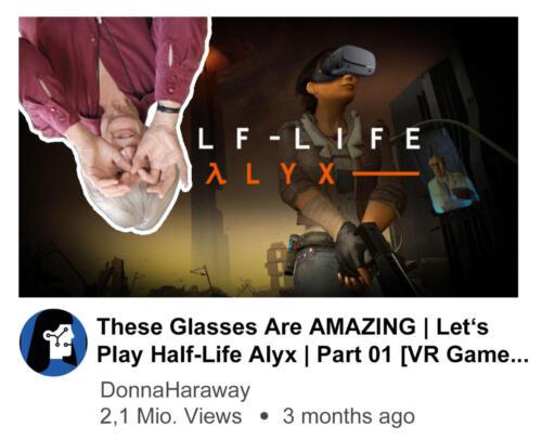 Donna Haraway Plays Half-Life Alyx